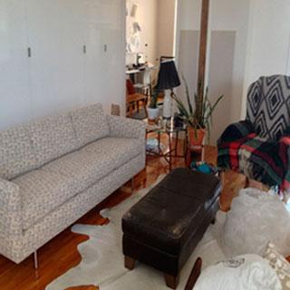Sofa Reupholstery With Custom Fabric - Custom Upholstery and Reupholstery by Dreams Upholstery NYC
