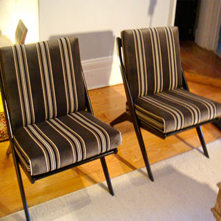 Chair With Loose Cushions - Custom Upholstery and Reupholstery by Dreams Upholstery NYC