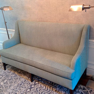 Sofa Replication With Custom Modification - Custom Upholstery and Reupholstery by Dreams Upholstery NYC