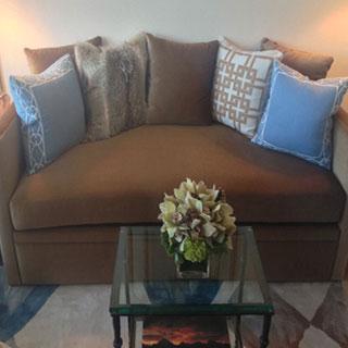 Avery Boardman Daybed Re-Upholstery - Custom Upholstery and Reupholstery by Dreams Upholstery NYC