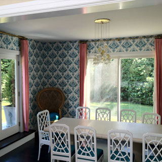 Hampton Window Treatment - Custom Upholstery and Reupholstery by Dreams Upholstery NYC