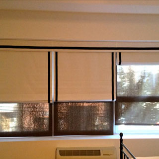 Long Island City Roman Shades - Custom Upholstery and Reupholstery by Dreams Upholstery NYC