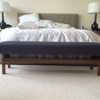 Bedroom Bench Replica - Custom Upholstery and Reupholstery by Dreams Upholstery NYC