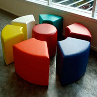 Beach Ball Table - Custom Upholstery and Reupholstery by Dreams Upholstery NYC