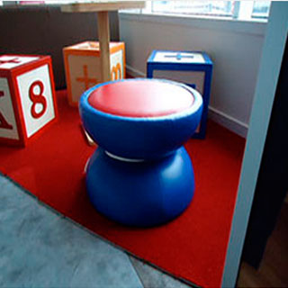 Yo-Yo Table - Custom Upholstery and Reupholstery by Dreams Upholstery NYC