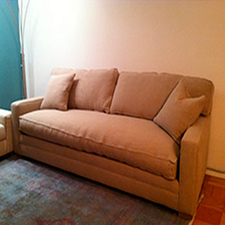 Sofa Disassembled & Reassembled - Custom Upholstery and Reupholstery by Dreams Upholstery NYC
