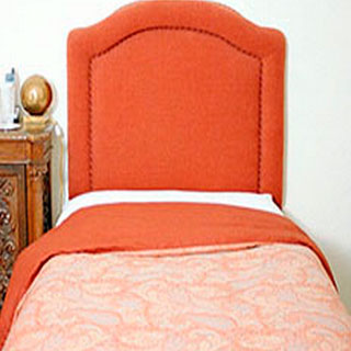 Twin Headboard With Inside Piping - Custom Upholstery and Reupholstery by Dreams Upholstery NYC