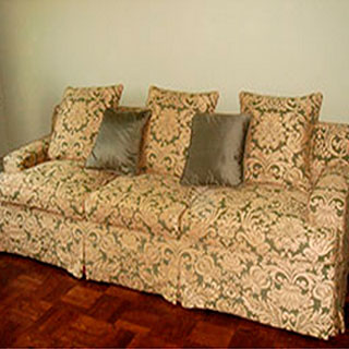 Sofa Slipcover 1 - Custom Upholstery and Reupholstery by Dreams Upholstery NYC