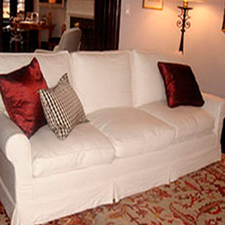 Sofa Slipcover 2 - Custom Upholstery and Reupholstery by Dreams Upholstery NYC
