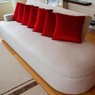 Modified Sofa Re-Upholstery - Custom Upholstery and Reupholstery by Dreams Upholstery NYC