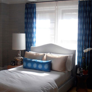 Bedroom Window Treatment - Custom Upholstery and Reupholstery by Dreams Upholstery NYC