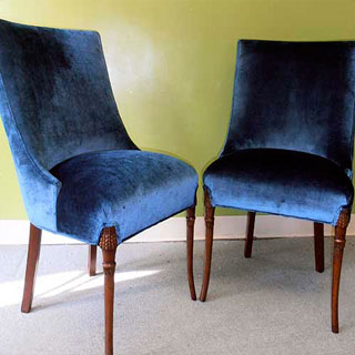 Swoop Chairs - Custom Upholstery and Reupholstery by Dreams Upholstery NYC