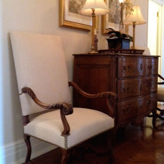 Armed Chair - Custom Upholstery and Reupholstery by Dreams Upholstery NYC