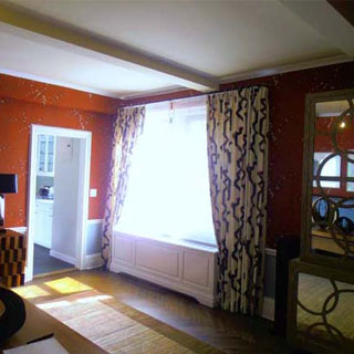 Upper East Window Treatment - Custom Upholstery and Reupholstery by Dreams Upholstery NYC