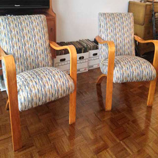 Maravu Chairs - Custom Upholstery and Reupholstery by Dreams Upholstery NYC
