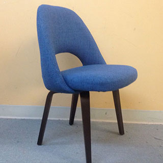 Knoll Saarenin Executive Armless Chair - Custom Upholstery and Reupholstery by Dreams Upholstery NYC