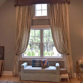 Hampton Designer Show House 2015 - Custom Upholstery and Reupholstery by Dreams Upholstery NYC