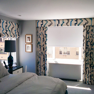 Window Treatment - Custom Upholstery and Reupholstery by Dreams Upholstery NYC
