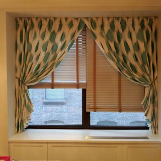 Stationary Drapes for Girls Room - Custom Upholstery and Reupholstery by Dreams Upholstery NYC