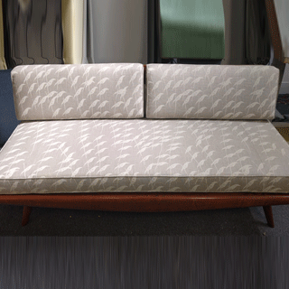 Danish Modern Style Daybed Re-upholstery - Custom Upholstery and Reupholstery by Dreams Upholstery NYC